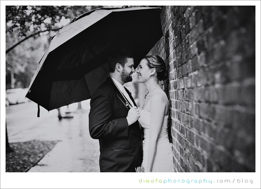 Dumbarton House Washington what should you do if it rains on your wedding day? | julia+pat