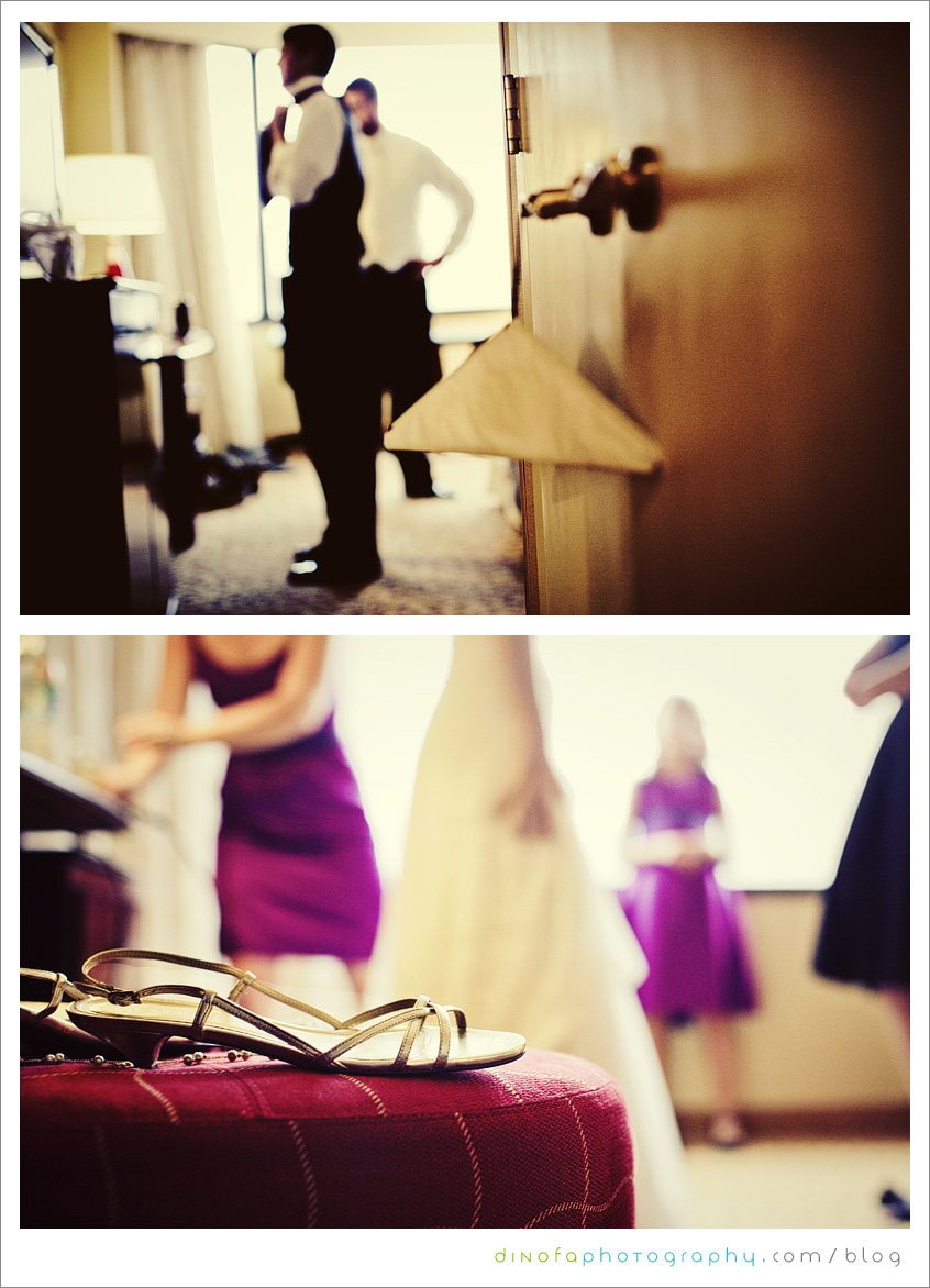 Getting Ready Before Wedding what should you do if it rains on your wedding day? | julia+pat
