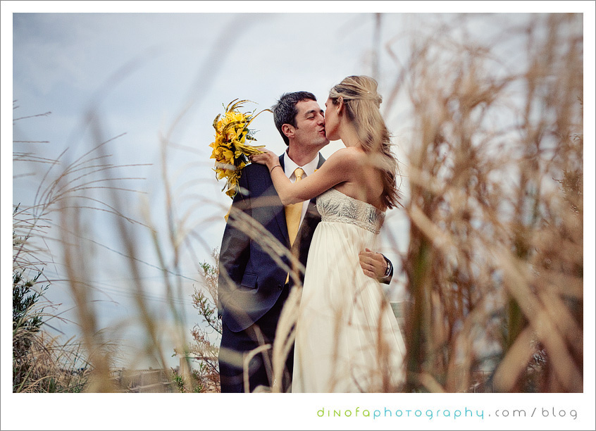 Jersey Shore Wedding Picture little mellow yellow wedding | chrissy+kevin