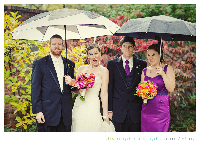 Rain On Your Wedding Day what should you do if it rains on your wedding day? | julia+pat