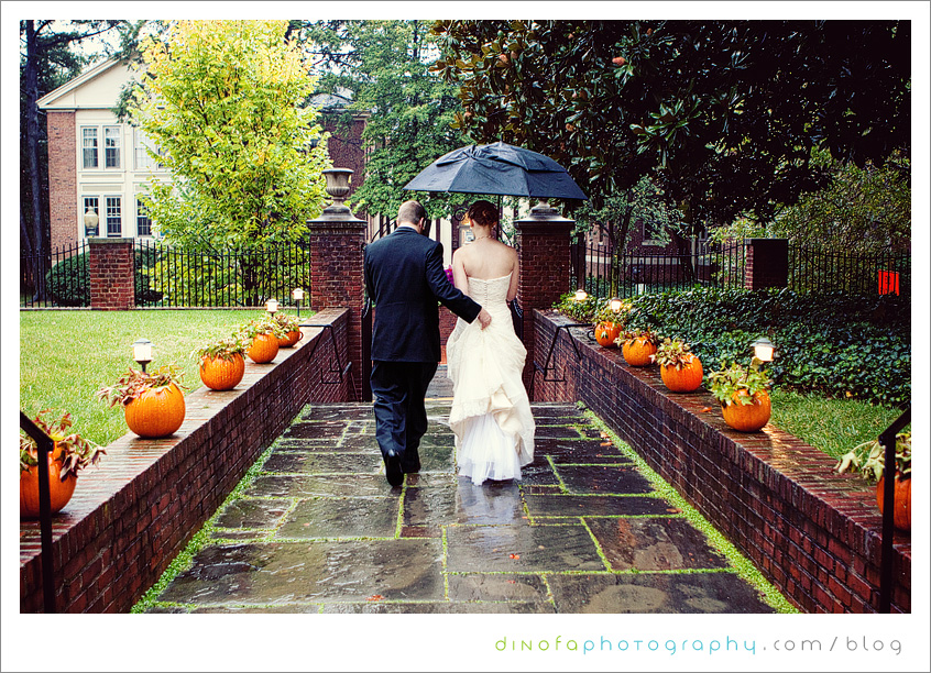 Wedding Dumbarton House what should you do if it rains on your wedding day? | julia+pat