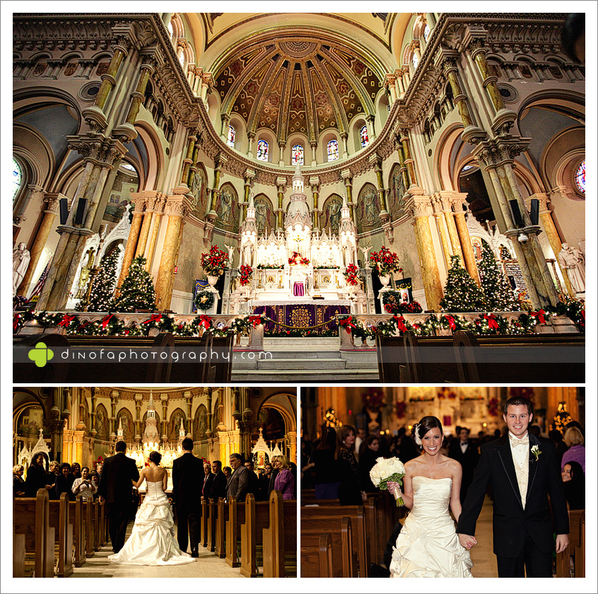 Saint Nicks Wedding Ac Christmas Style Atlantic City Danielle Dave