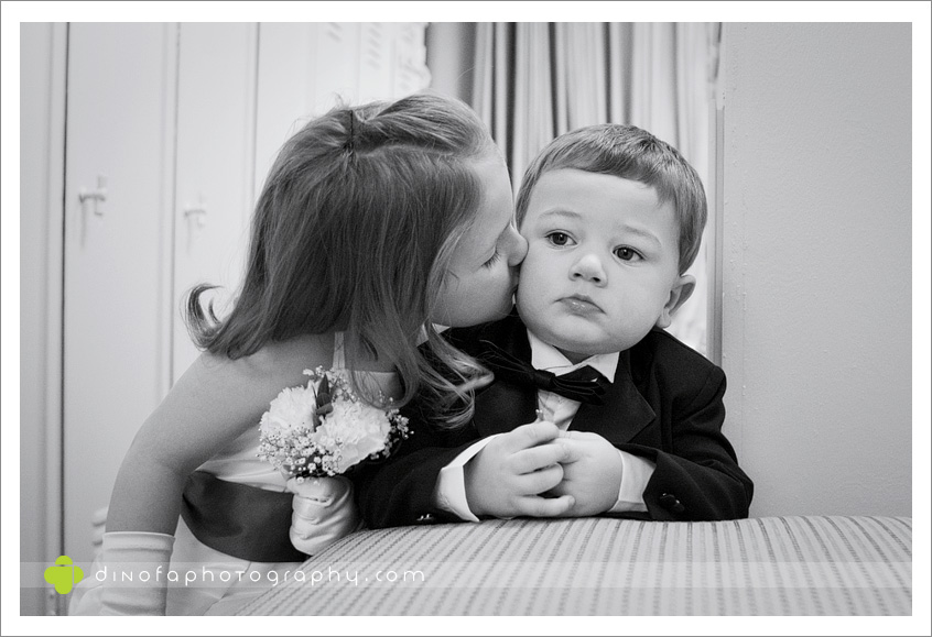 Kids At Weddings as the ball drops | dana+dan