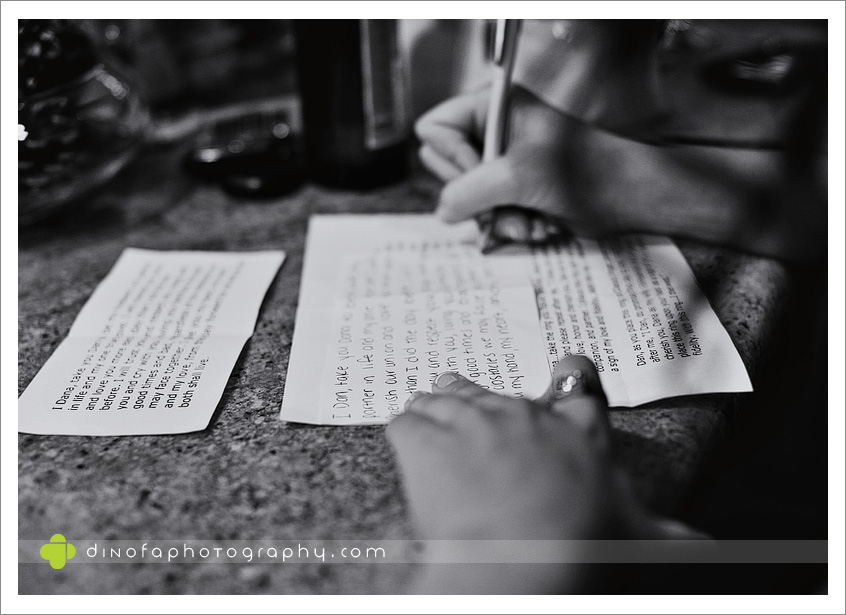 Writing Wedding Vows as the ball drops | dana+dan
