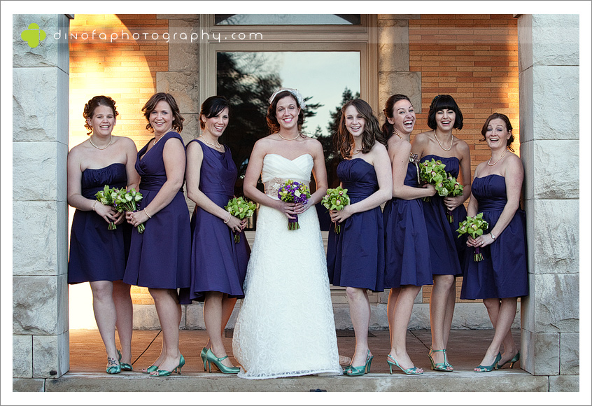 Purple Bridesmaid Dress vintage wedding at the mansion jamie tony