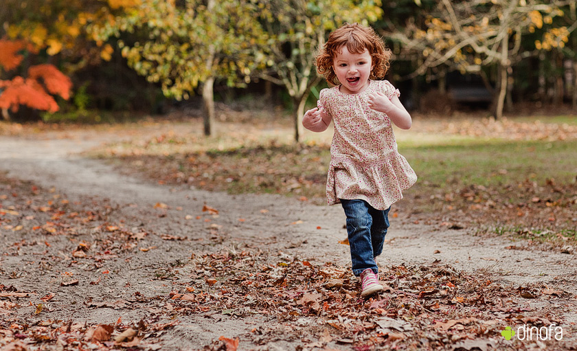 action kid photography new jersey red leaves & red curls | lily