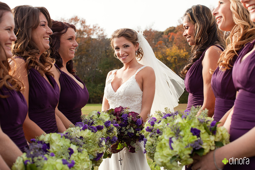 Wedding Party Photography: Greate Bay Country Club Wedding