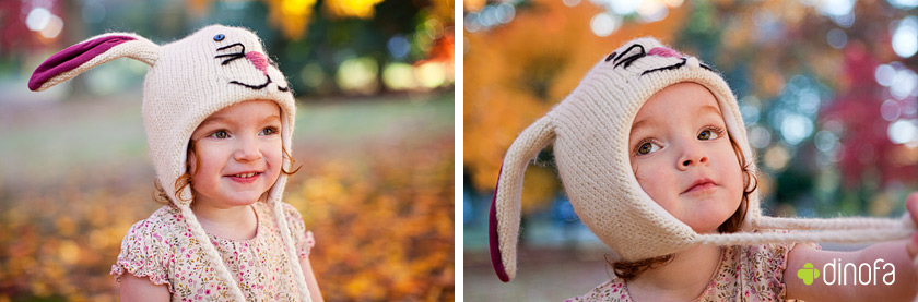 linwood nj photographer red leaves & red curls | lily