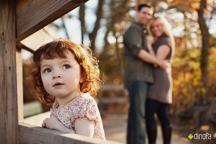 modern family portraits new jersey red leaves & red curls | lily
