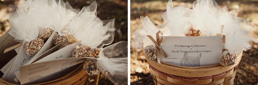 throwing bird seed at the wedding free as a bird | nikki+kevin