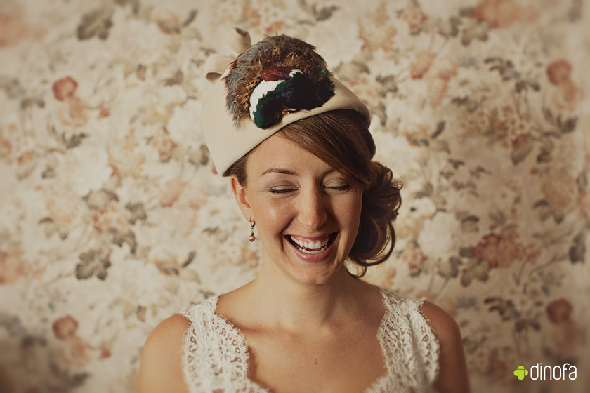 vintage bridal hats free as a bird | nikki+kevin