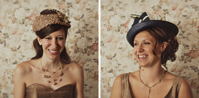 womens vintage wedding hats free as a bird | nikki+kevin