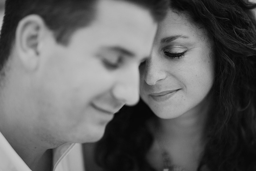 black white engagement photography secret nook | marisa+matt