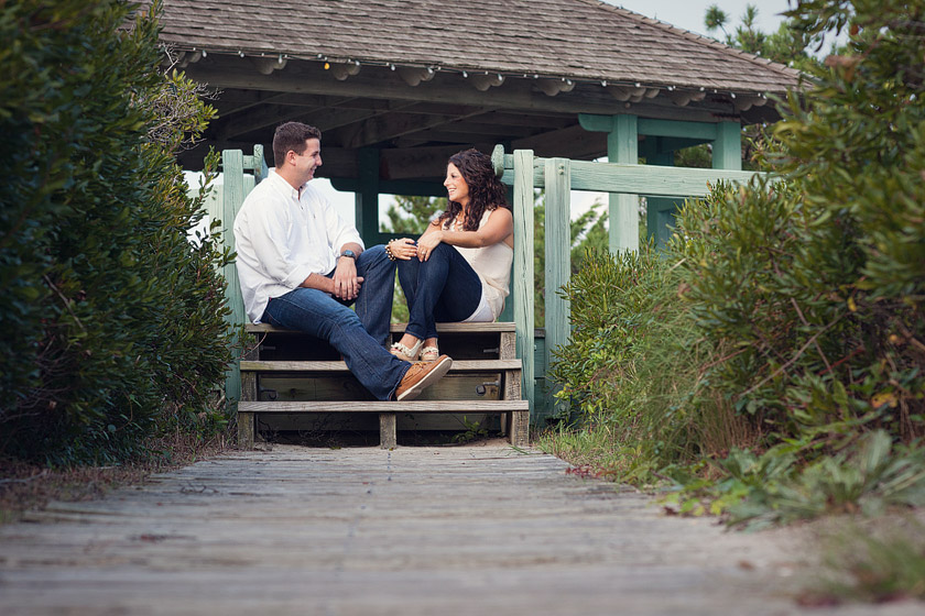 south jersey beach engagement photos secret nook | marisa+matt