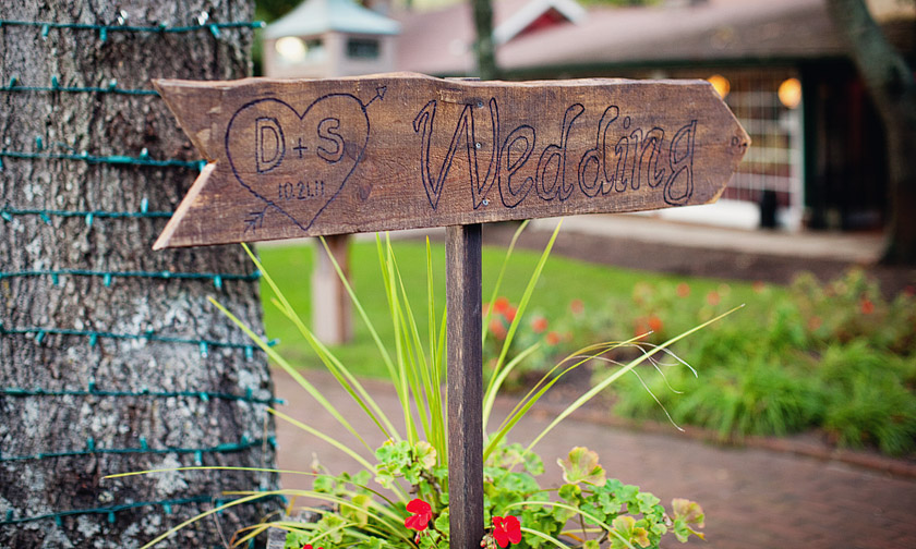 custom wooden wedding sign flame of my life | shannon+dave