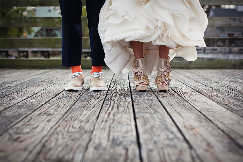 vintage wedding shoes flame of my life | shannon+dave