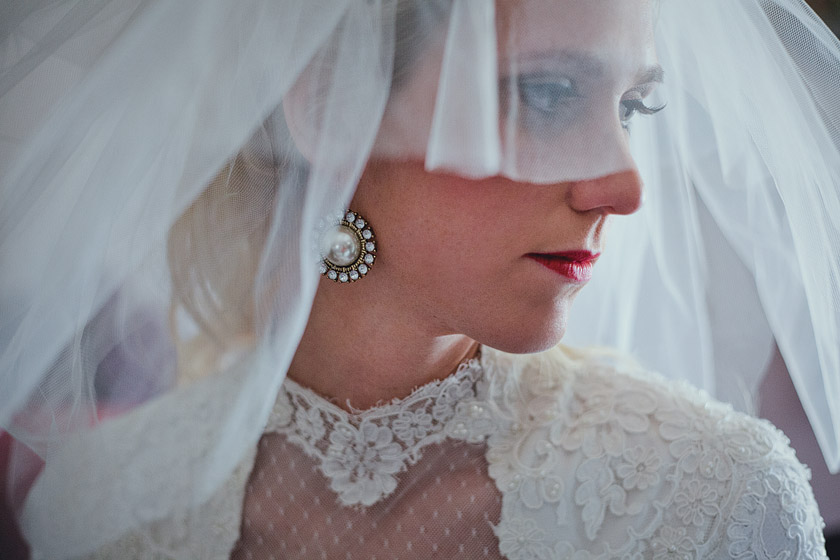 brides vintage wedding dress floating dreams | abby+erik