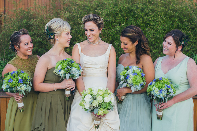 Shades Of Green Bridesmaid Dresses Going Lisa Z