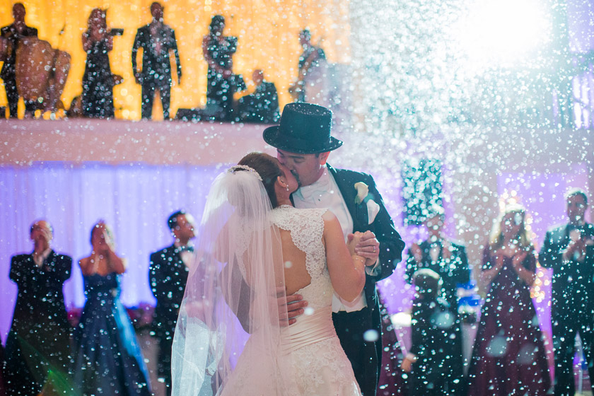 Carriage House Wedding 1061 winter wonderland | jennifer+bill