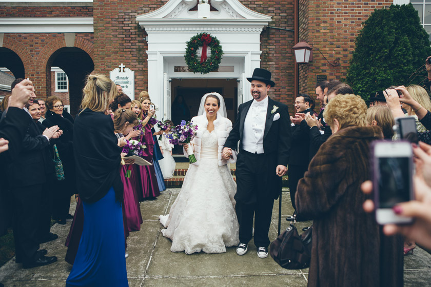 Carriage House Wedding 2009 winter wonderland | jennifer+bill