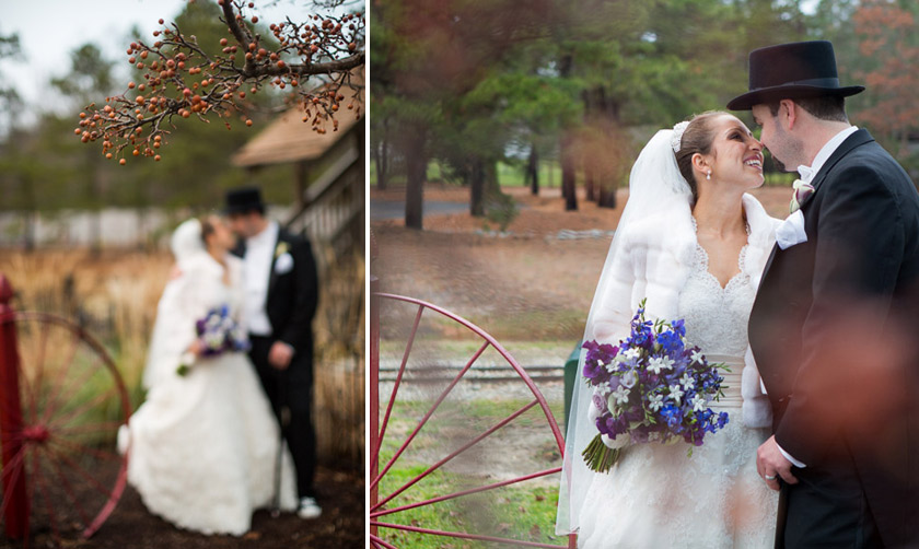 Carriage House Wedding007 winter wonderland | jennifer+bill