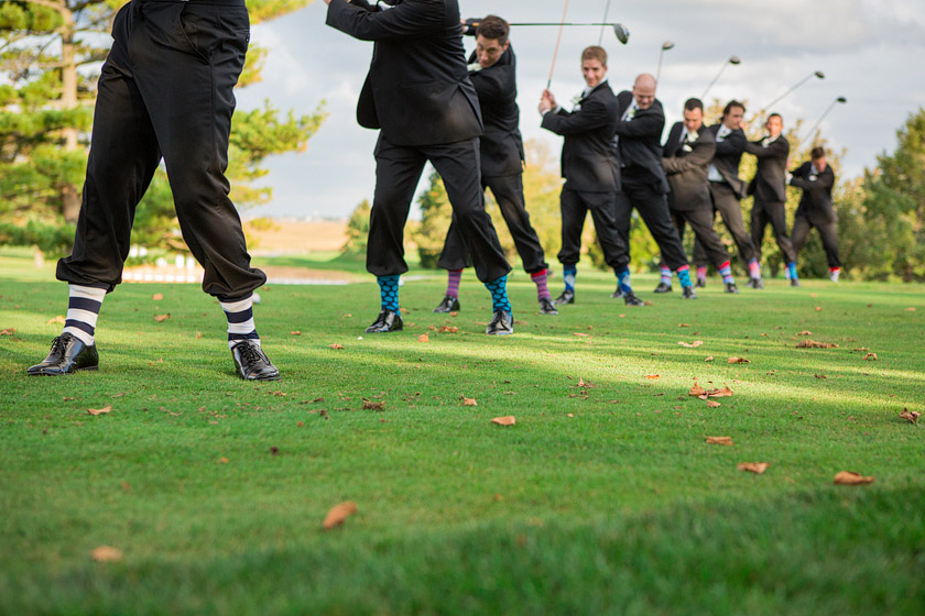 groomsmen golfing wedding day3 a look back | 2012 weddings