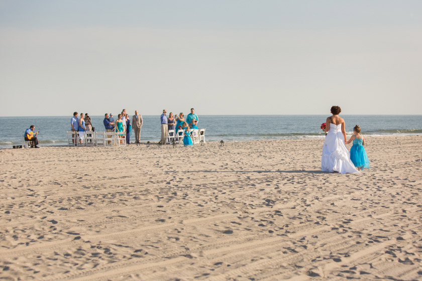 Ocean City Nj Beach Wedding