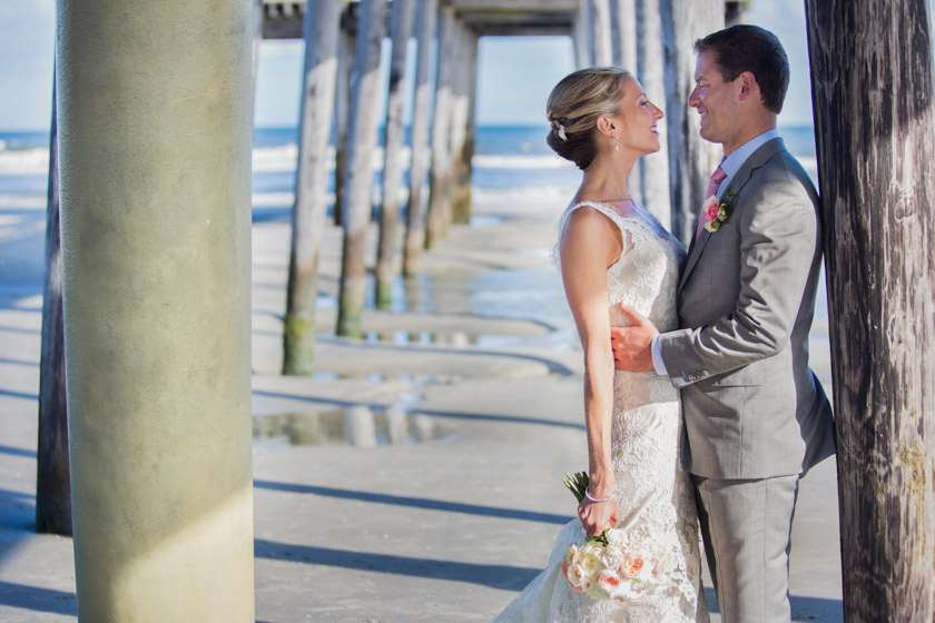 Yacht Club Stone Harbor NJ Wedding029 just married | danielle+adam