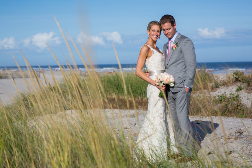 Yacht Club Stone Harbor NJ Wedding031 just married | danielle+adam