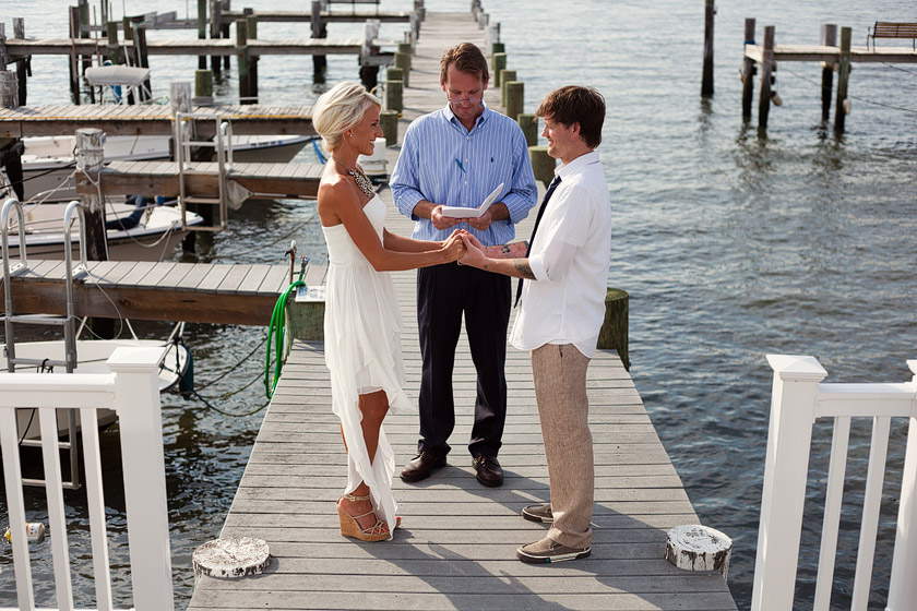 Ocean City Nj Wedding Photography Dock Of The Bay Jenn Ron